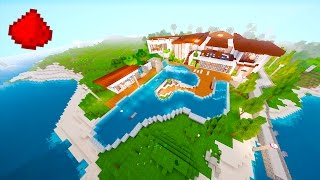 getlinkyoutube.com-Redstone Beach House (REDSTONE MODERN HOUSE) - Minecraft Redstone Maps