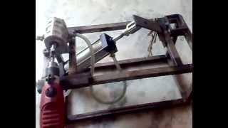 getlinkyoutube.com-TMT  BENDING  MACHINE mechanical engineering project