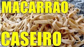 getlinkyoutube.com-MACARRÃO CASEIRO TAGLIATELLE ITALIANO/MASSA FRESCA FÁCIL DE FAZER ESSA DELICIA /POR MARA CAPRIO