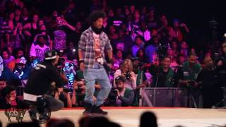 getlinkyoutube.com-Les Twins vs Lil'O & Tyger B Juste Debout 2011 Semi-Final | YAK FILMS