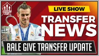 Gareth BALE Gives MANCHESTER UNITED Transfer Update | MAN UTD Transfer News width=