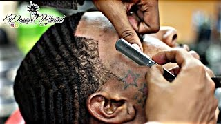 getlinkyoutube.com-The Adrien Broner 360 Wave Full Haircut (Cut off the 13 week WOLF)