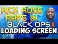 RICK ROSS RAPS IN BLACK OPS 2 OPENING CUTSCENE!!