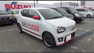 getlinkyoutube.com-2015 SUZUKI ALTO TURBO RS 4WD - Exterior & Interior