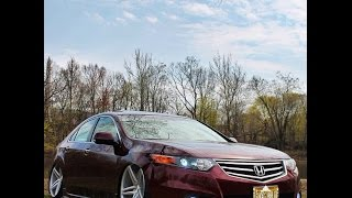 getlinkyoutube.com-Accord Tsx Cu2 Airlift Bagged on Vossen Cv5