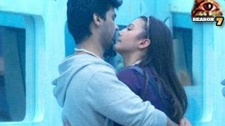 UNCENSORED BATHROOM ROMANCE in Bigg Boss 7 18th December 2013 Day 94 FULL EPISODE