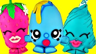 SUPER AMAZING SHOPKINS Giant Play Doh Surprise Eggs Opening | HUGE Surprise Toy Unboxing Video
