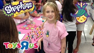 "getlinkyoutube.com-Ultimate Shopkins Swap-kins Party 2015 at Toys ""R"" Us"