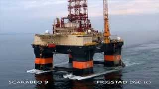 getlinkyoutube.com-Scarabeo 9 - Ultra Deepwater Drilling Rig - Frigstad D90 Design