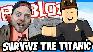 getlinkyoutube.com-SquiddyPlays - ROBLOX! - ESCAPE THE TITANIC! W/AshDubh