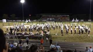 "getlinkyoutube.com-Tarpon Springs Marching Band 2013 ""Unidentified"" Outdoor Music Festival"
