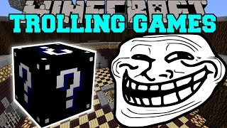 getlinkyoutube.com-Minecraft: WITCHES TROLLING GAMES - Lucky Block Mod - Modded Mini-Game