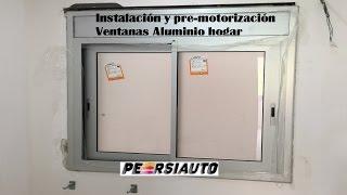 getlinkyoutube.com-Instalación ventanas aluminio hogar Barcelona