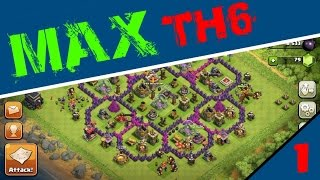 getlinkyoutube.com-ROAD TO MAX TH6 #1 - Clash of Clans
