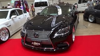 getlinkyoutube.com-LEXUS LS600hL Custom car  レクサスLS600hL カスタムカー