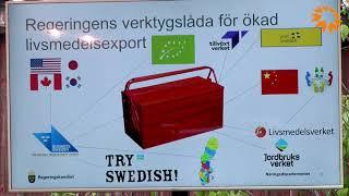 Ett nationellt exportlyft för KKN och Livsmedel - Johan Krallis Anell