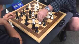 Grandmaster Trash Talker The Great Carlini vs. USCF Life Senior Master Mick Bighamian