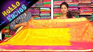 getlinkyoutube.com-Latest Bridal Collections Pattu, Fancy and Designer Sarees || Hello Ladies || Vanitha TV