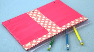 getlinkyoutube.com-How to Make a Duct Tape Pencil Case | Sophie's World