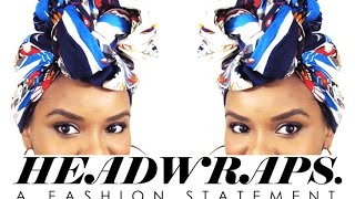 getlinkyoutube.com-NATURAL HAIR | Head Wrap for the Gawds (Tutorial/Demo)