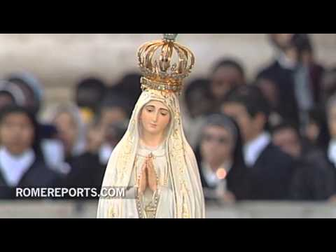 Pope's Pontificate to be consecrated to Our Lady of Fatima on May 13th