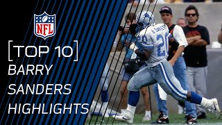 getlinkyoutube.com-Top 10 Barry Sanders Highlight Plays | NFL