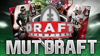 THIS IS INSANE! THE BEST WIDE RECEIVER DRAFT EVER! - Madden 16 Draft Champions #4
