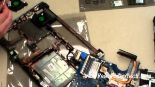 getlinkyoutube.com-HP DV4 CPU FAN REPLACEMENT