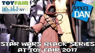 getlinkyoutube.com-Star Wars Black Series Hasbro Figures at New York Toy Fair 2017