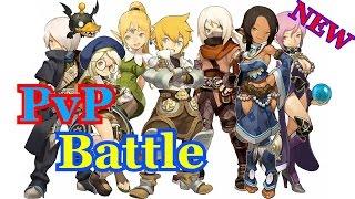 getlinkyoutube.com-Dragon Nest PvP-Battle Пилигрим vs Епископ (Алебардыч vs БездникБед2)