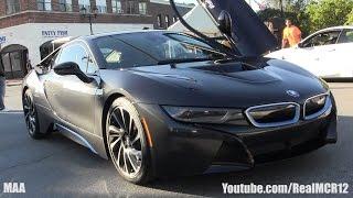 getlinkyoutube.com-BMW i8 Walkaround - Gold Coast Concours