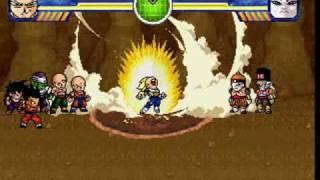 getlinkyoutube.com-Galactic Warriors - Vegeta Transforms