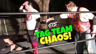 getlinkyoutube.com-YOU WONT BELIEVE WHAT THEY DID! GTS TAG TEAM CHAMPIONSHIP MATCH GONE CRAZY!