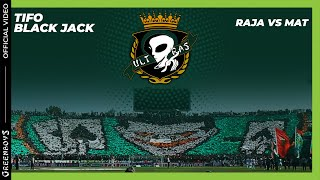getlinkyoutube.com-GREEN BOYS 05 - TIFO RAJA vs mat - BLACK JACK
