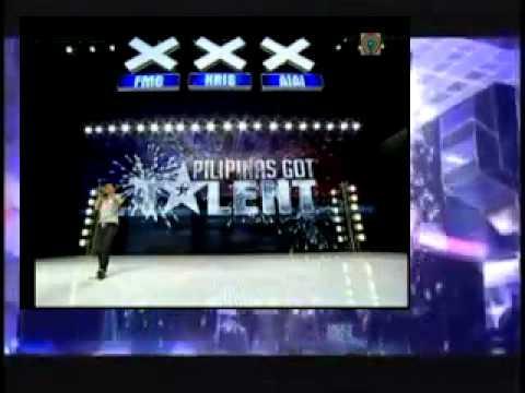 Geo Ed Rebucas Through The Rain Mariah Carey of Pilipinas Got Talent Season 3
