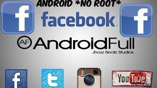 getlinkyoutube.com-[App] Facebook Transparente || * No Root * ||  [Android Full]