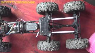 getlinkyoutube.com-RC TIPS & TRICKS. How to Make a Double Drive Axle - 6x6 CONVERSION