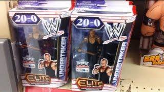 "getlinkyoutube.com-WWE ACTION INSIDER: ToysRus Wrestling figure aisle Mattel review ""Grims Toy Show"""