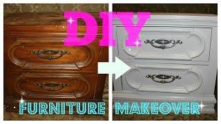 getlinkyoutube.com-DIY Furniture Makeover (FULL TUTORIAL)