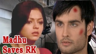 Madhu SAVES RK from AN ACCIDENT in MadhuBala Ek Ishq Ek Junoon 28th August 2012
