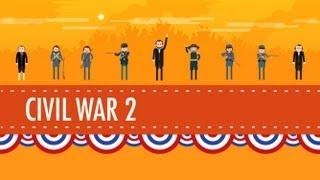 getlinkyoutube.com-The Civil War Part 2: Crash Course US History #21