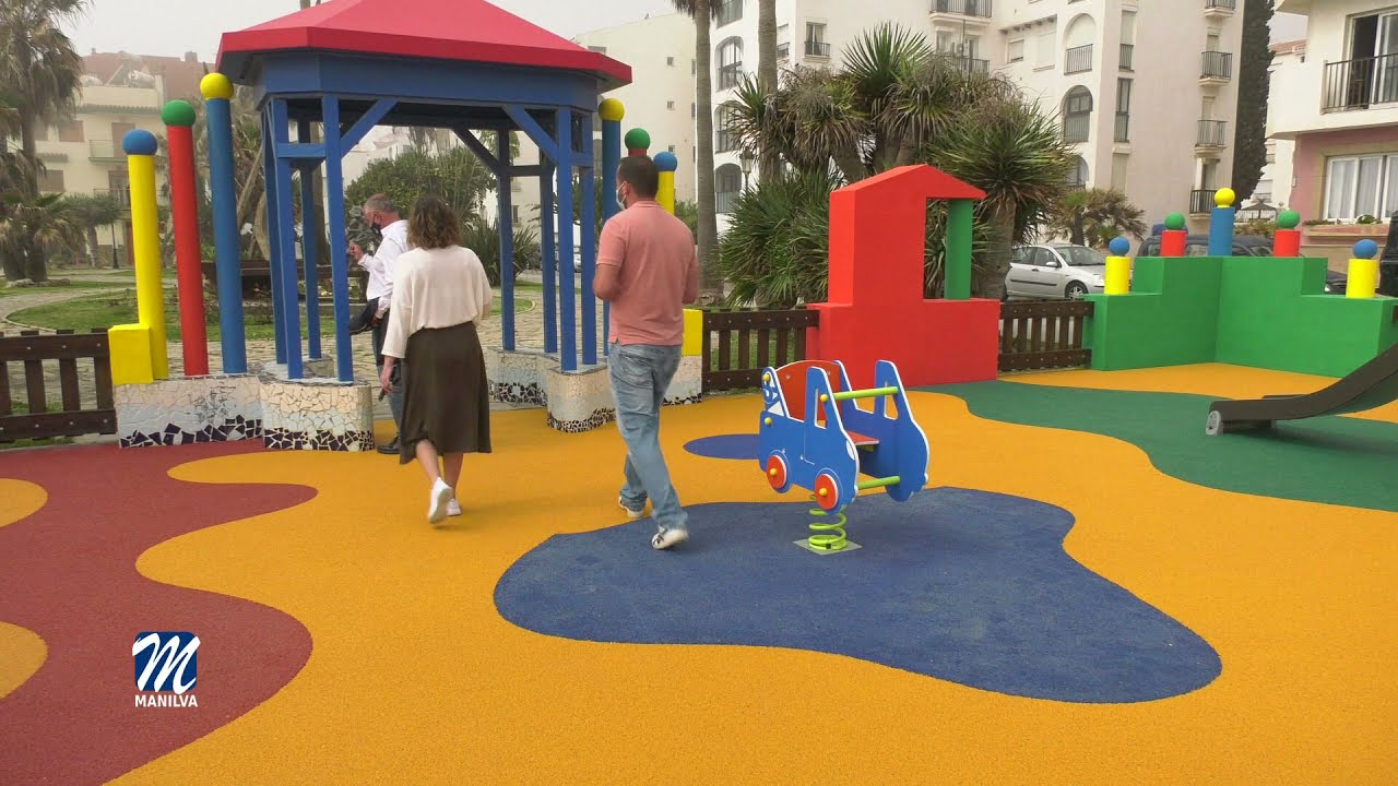 Hoy se ha inaugurado el  parque de La Noria