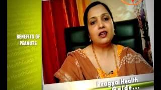getlinkyoutube.com-Benefits of Peanuts- Dr. Vibha Sharma- Ayurvedic Expert- Health quotes on Pragya TV