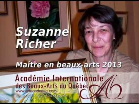 Suzanne Richer - Maitre en Beaux-Arts AIBAQ 2013