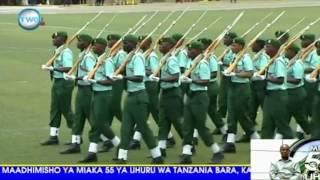 Kwata la kimyakimya la Wanajeshi wa Tanzania Uhuru Day 2016 width=