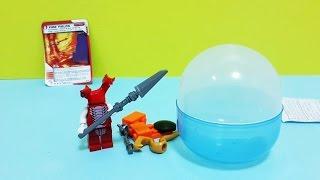 getlinkyoutube.com-[Egg Capsule Toy] Lego Ninjago fangdam 캡슐 장난감 - 레고 닌자고 스네이크 부족 팡댐 ZX 오픈케이스 조립