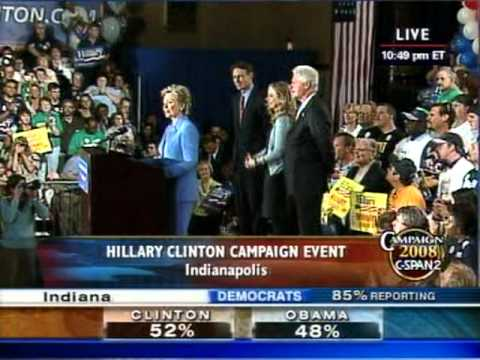 hillary clinton indiana primary speech 06 may 2008