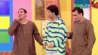 Zafri Khan and Nasir Chinyoti New Pakistani Stage Drama Full Comedy Funny Clip width=