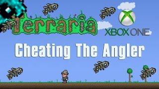getlinkyoutube.com-Terraria Xbox One Let's Play - Cheating The Angler [64]