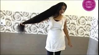 getlinkyoutube.com-ILHW Real Rapunzel Yuti Hairstyling &Hair Play Video